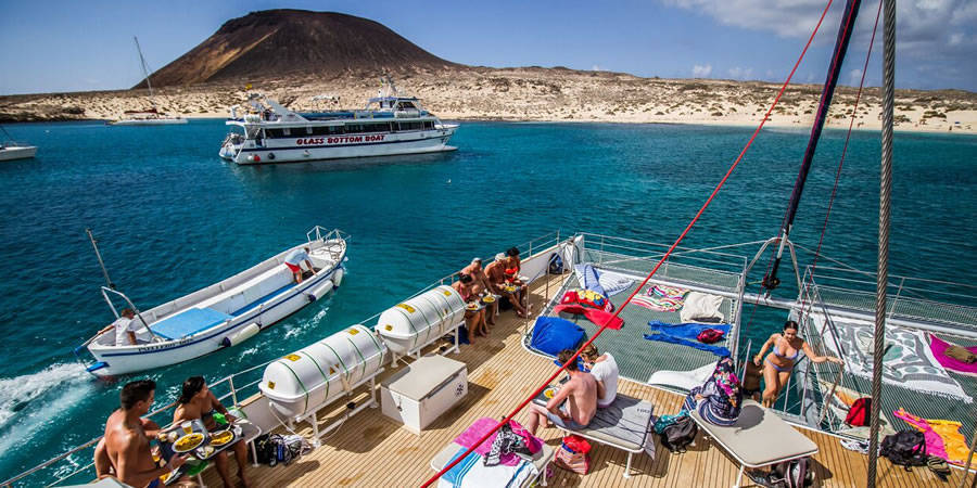 Excursiones marítimas en La Graciosa